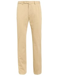 Hackett London Stretch Twill Cotton Chinos Hackett Khaki