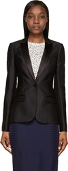 Burberry Black Diamond Jacquard Blazer