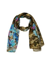 Brian Dales Accessories Stoles Women Military Green