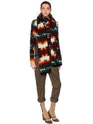 N 21 Wool And Mohair Knit Scarf