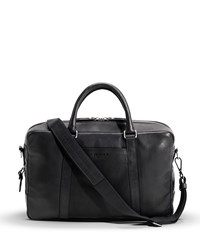 Slim Leather Briefcase Bourbon Shinola