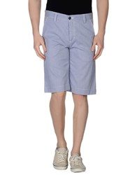 Yoon Trousers Bermuda Shorts Men Blue