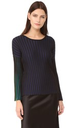 Kenzo Ribbed Pullover Midnight Blue