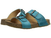 Haflinger Andrea2 Sky Blue Women's Sandals