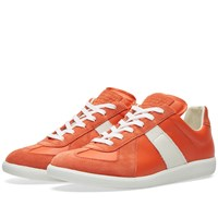 Maison Martin Margiela 22 Replica Low Contrast Stripe Sneaker Orange