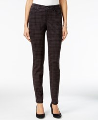 Styleandco. Style Co. Curvy Fit Menahan Plaid Skinny Jeans Only At Macy's