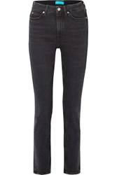 Mih Jeans M.I.H Daily High Rise Straight Leg Black