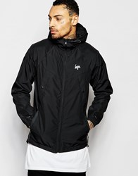 Hype Lightweight Jacket With Hood Black