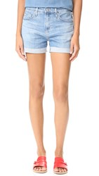 Ag Jeans The Hailey Slouchy Roll Up Shorts 16 Years Interlude
