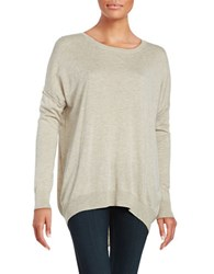 Splendid Quincy Crewneck Dolman Sweater Beige