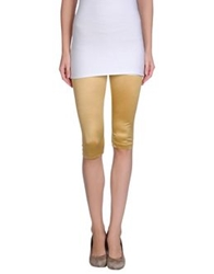 Plein Sud Jeanius Leggings Ocher