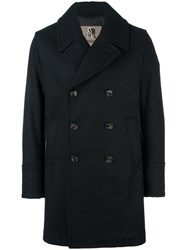 Sealup Double Breasted Mid Coat Black