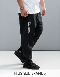 Canterbury Of New Zealand Plus Cuffed Stadium Trousers In Black E512607 989 Black