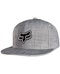 Fox Men's Jump Grump Snapback Hat Htr Gry