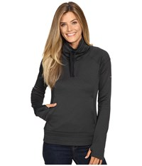 Columbia Saturday Trail Pullover Top Black Heather Women's Clothing