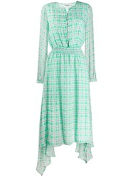 Essentiel Antwerp Tus Printed Dress Green
