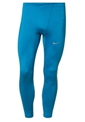 Nike Performance Reflective Tech Running Tights Light Blue Lacquer Reflective Silver