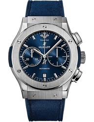 Hublot 521.Nx.7170.Wr.Pst17 Classic Fusion Prince's Trust Titanium And Leather Watch