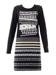 Kenzo Temple Eye Neoprene Dress