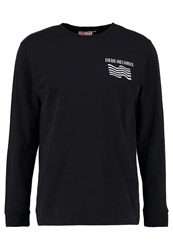 Deus Ex Machina Come Together Long Sleeved Top Black