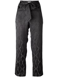 Masscob Knot Detail Pants Grey