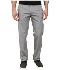 Calvin Klein Sateen Chino Pants Convoy Men's Casual Pants Gray