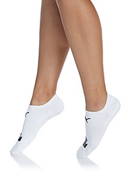 Puma No Show Sport Socks 2 Pack Black White