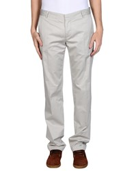 Daniele Alessandrini Trousers Casual Trousers Men Light Grey