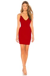 By The Way Aria Bodycon Mini Dress Red