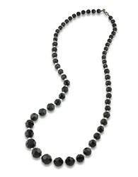 Carolee Black And White Graduated Necklace