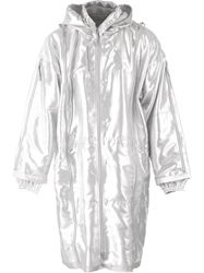 Final Home Hooded Raincoat Metallic