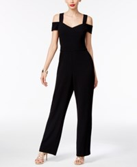 Thalia Sodi Off The Shoulder Jumpsuit Only At Macy's Deep Black