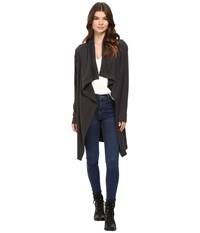 Bench Diction Long Cardigan Jet Black Marl Women's Sweater