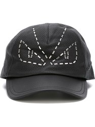 Fendi Bag Bugs Cap Black