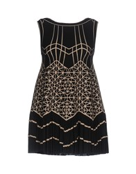 Alaia Short Dresses Black