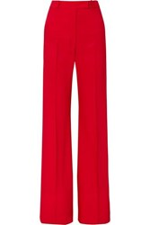 Golden Goose Deluxe Brand Carrie Drill Wide Leg Pants Red