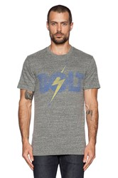 Lightning Bolt Tee Gray