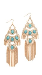 Adia Kibur Shara Earrings Aqua