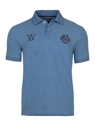 Raging Bull Men's Big And Tall First Xv Jersey Polo Denim