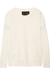 Norma Kamali Stretch Cotton Terry Sweatshirt