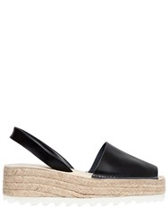 Jeffrey Campbell 50Mm Ibiza Leather Slingback Espadrilles