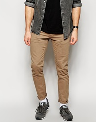 New Look Chinos In Skinny Fit Stone