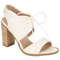 Collection Weekend By John Lewis Issigeac Block Heeled Sandals Cream
