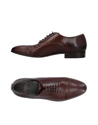 Mauro Grifoni Lace Up Shoes Cocoa