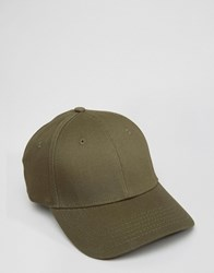 Selected Homme Jakob Cap In Khaki Green