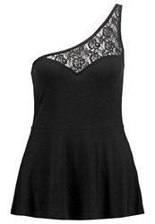 Evenandodd Top Black