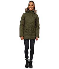 The North Face Mauna Kea Parka Forest Night Green Melange Women's Coat Olive