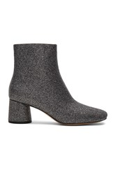 Marc Jacobs Valentine Ankle Boot Metallic Silver