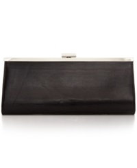 Style And Co. Carolyn Exotic Clutch Black