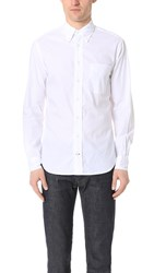 Gitman Brothers Vintage Long Sleeve White Zephyr Oxford Shirt